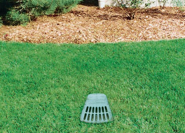 Yard grading downingtown yard drainage coatesville pa for Surface drainage solutions